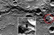 ¿Es esto una abertura en la superficie de Mercurio?