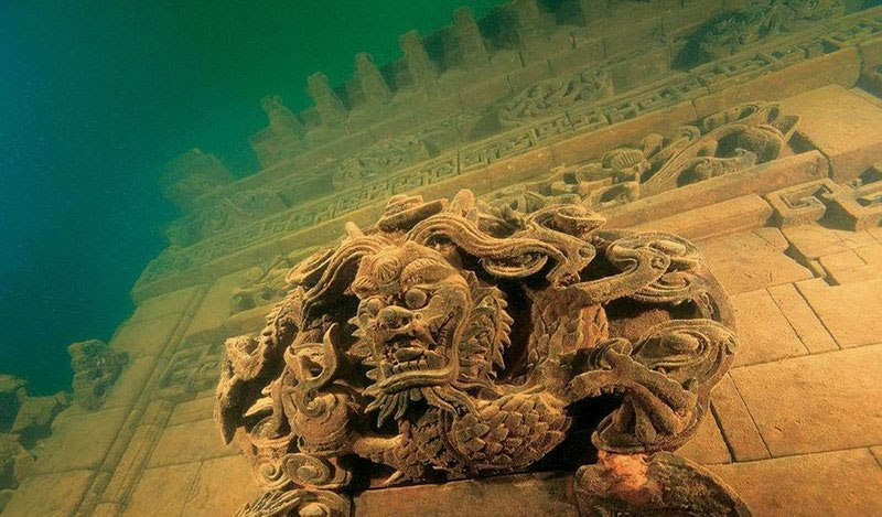 Lion-City-of-Quiandao-Lake-China-4 Las 5 ciudades olvidadas bajo las aguas