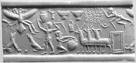 ancient-seal LA LISTA DE REYES SUMERIOS QUE SE EXTIENDE POR MÁS DE 241.000 AÑOS ANTES DEL GRAN DILUVIO