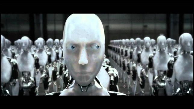 Escena de la película Yo, Robot