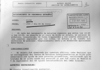 EL CASO OVNI DE GIJÓN (1969)