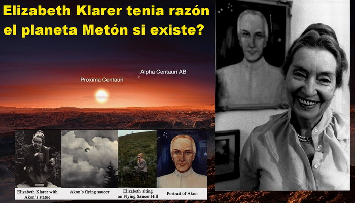 Elizabeth Klarer tenia razón el planeta Metón si existe