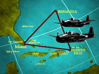 Bermuda-Triangle-1 Triángulo de las Bermudas: Vuelo 19, el nacimiento de un enigma