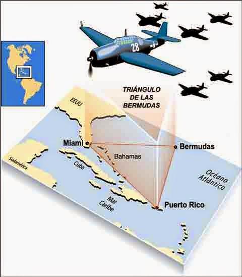 Bermuda-Triangle Triángulo de las Bermudas: Vuelo 19, el nacimiento de un enigma