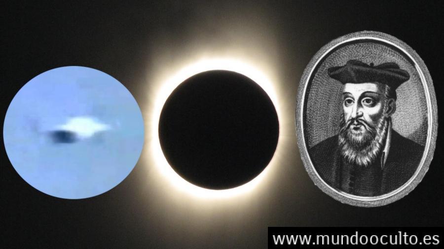 profetizo-nostradamus-un-ovni-en-el-gran-eclipse-de-2017-1 ¿Profetizó Nostradamus un ovni en el gran eclipse de 2017?