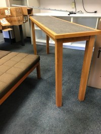 Counter height narrow table Online Government Auctions of ...