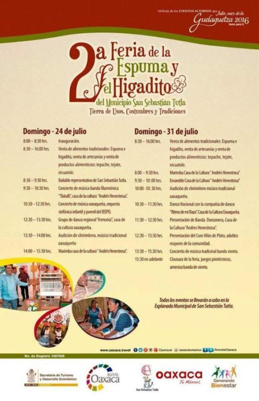 """""""2a. FERIA DE LA ESPUMA Y EL HIGADITO"""""""