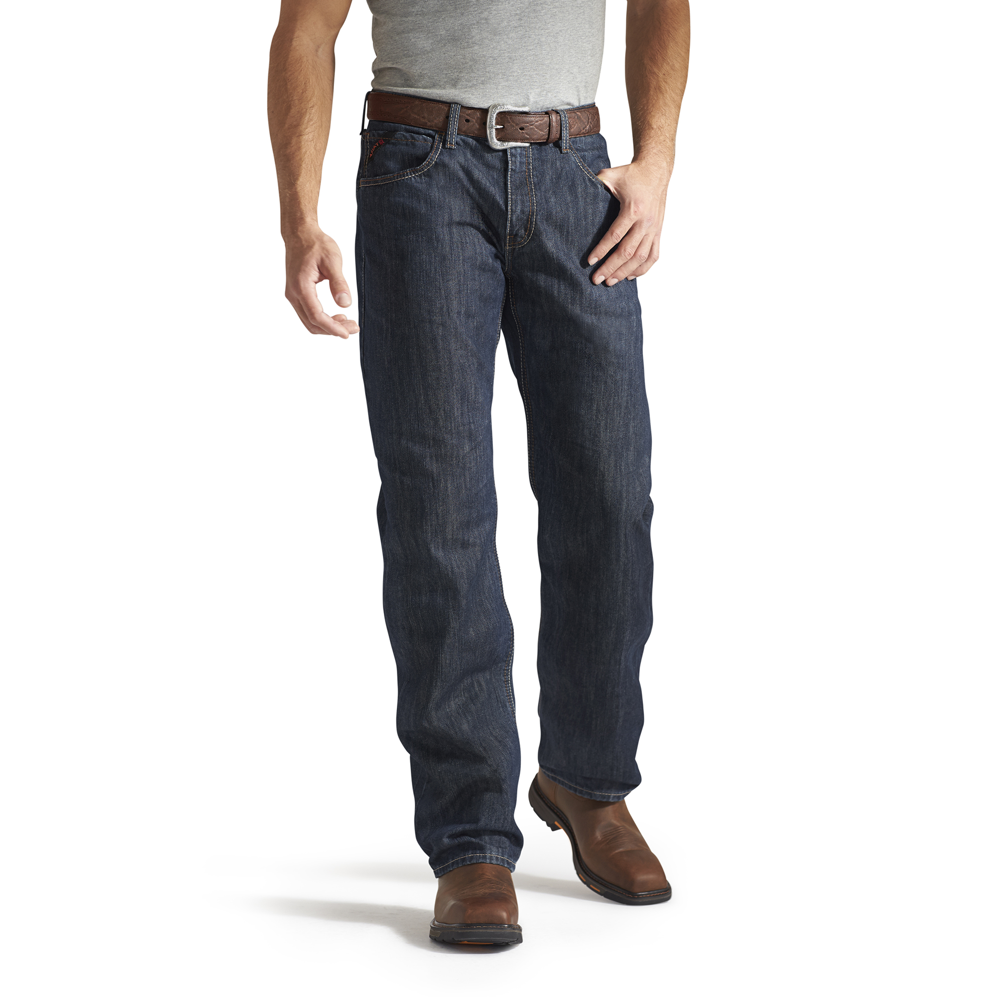 Corpus Rub Ariat Fr M3 Loose Fit Blue Jeans | Flame Resistant