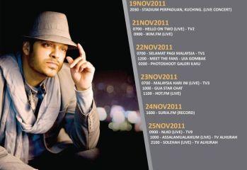 Irfan Makki Promo Tour
