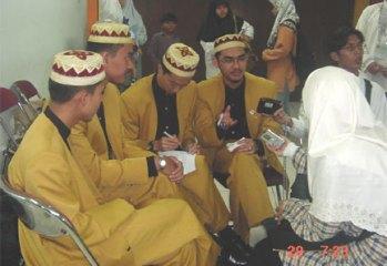 Inteam (formerly known as In-Team) ditemubual selepas Konsert Satu Nada di Jakarta, Indonesia.