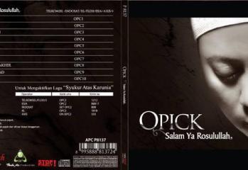Album terbaru Opick berjudul Salam Ya Rosulullah
