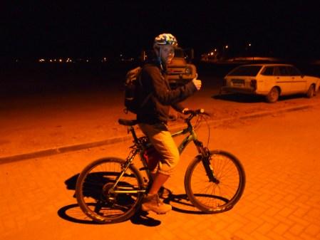 Riding Bicycles At Night
