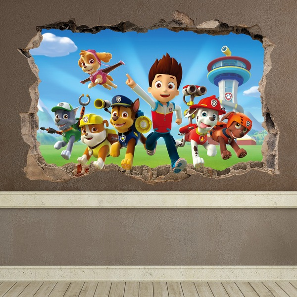 Paw Patrol Wall Stickers For Kids Muraldecal Com