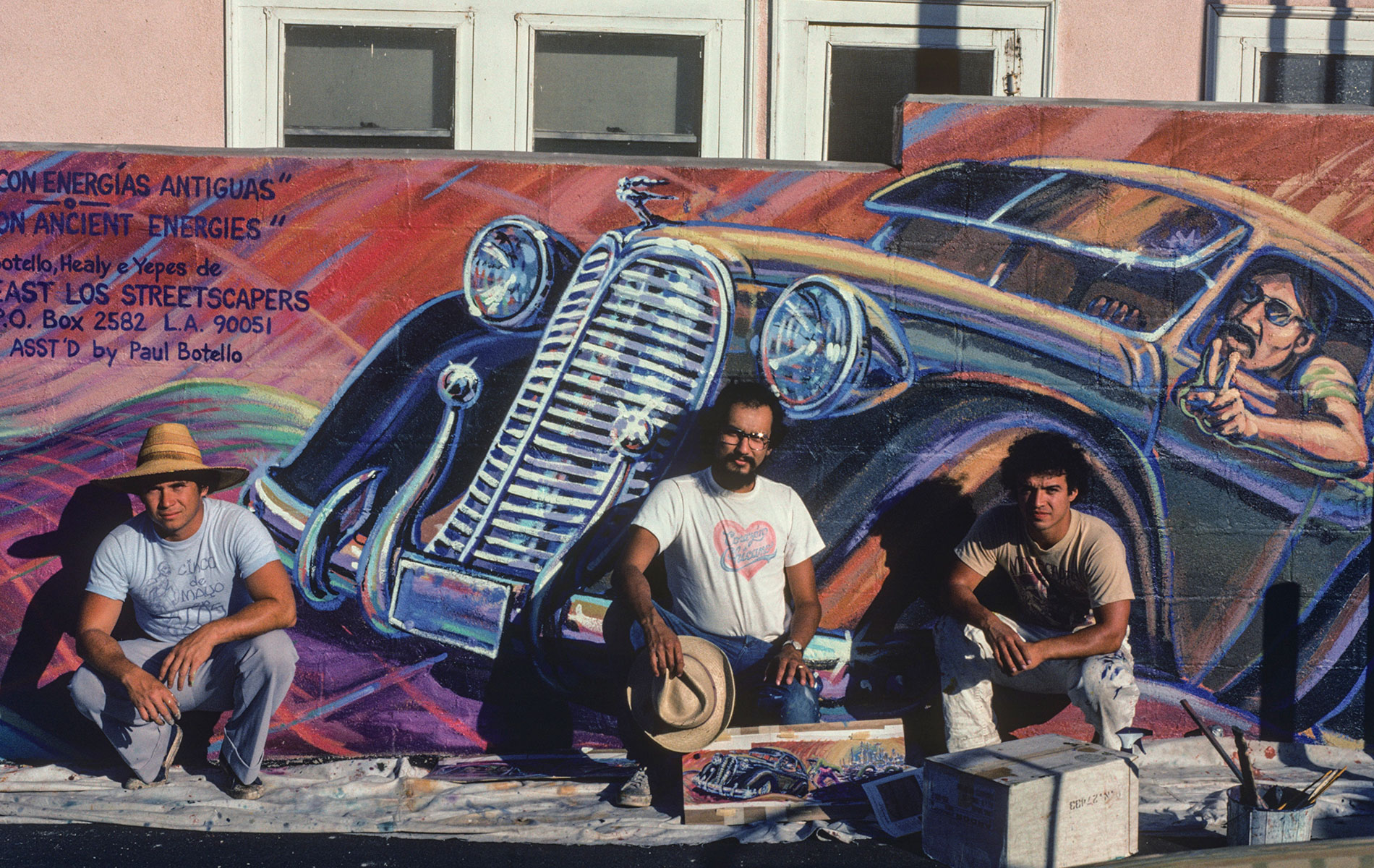 Arte Chicano Murals Exhibition Murales Rebeldes