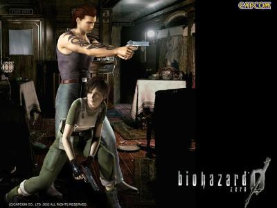 Resident Evil Zero - MuralGamer