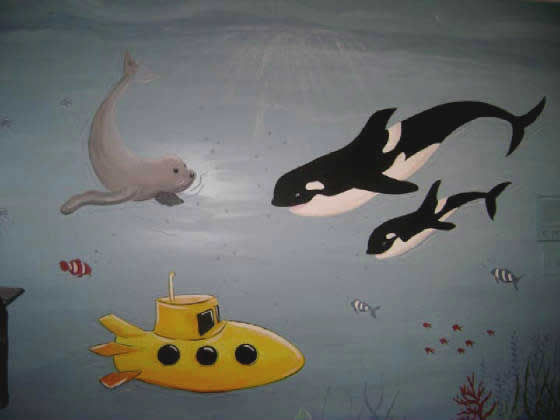 Orcas Mural-Palm Beach County Florida