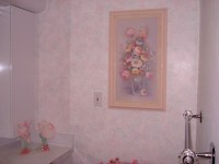 Sponge Painting in Multiple Colors