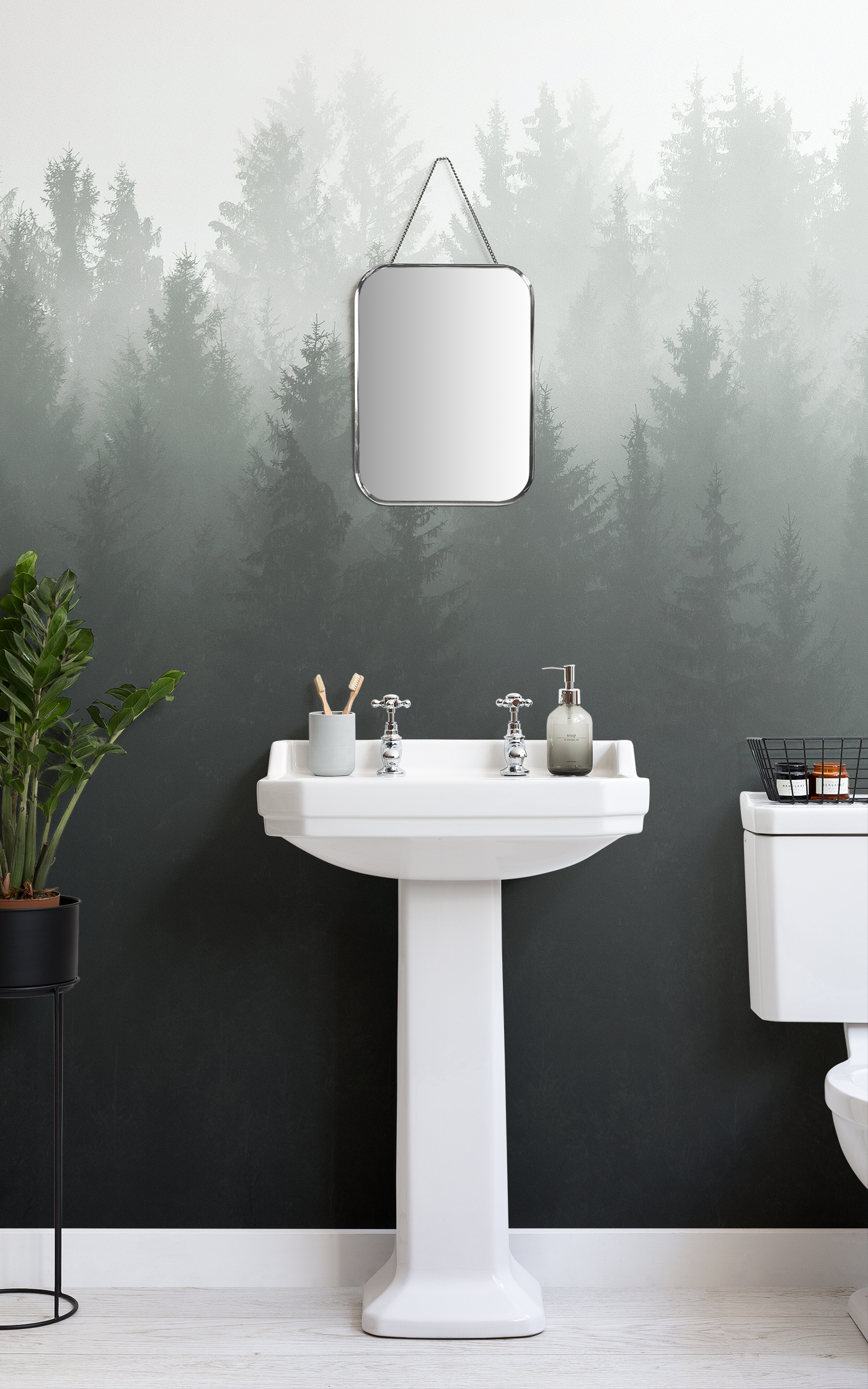 Wallpaper Murals For Bathrooms Small Bathroom Ideas Transform A Space With Small Bathroom Wallpaper