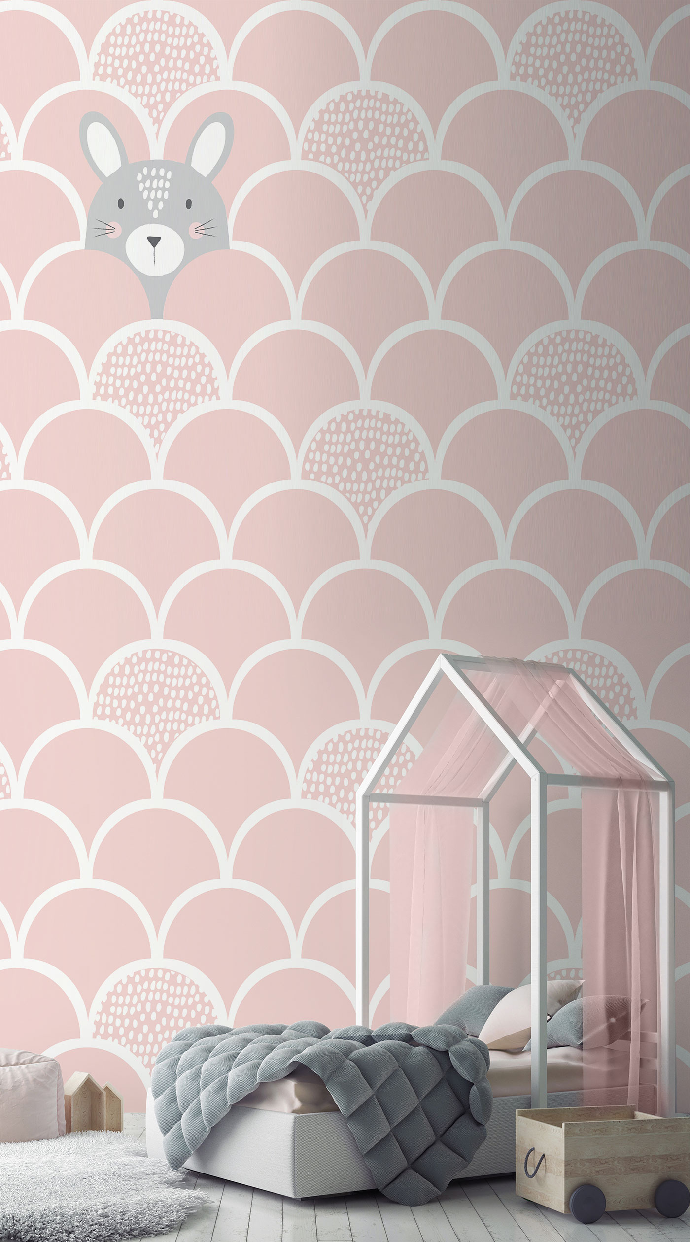 Wandtapete Rosa Millennial Pink How To Achieve The Hot Pink Trend With Murals