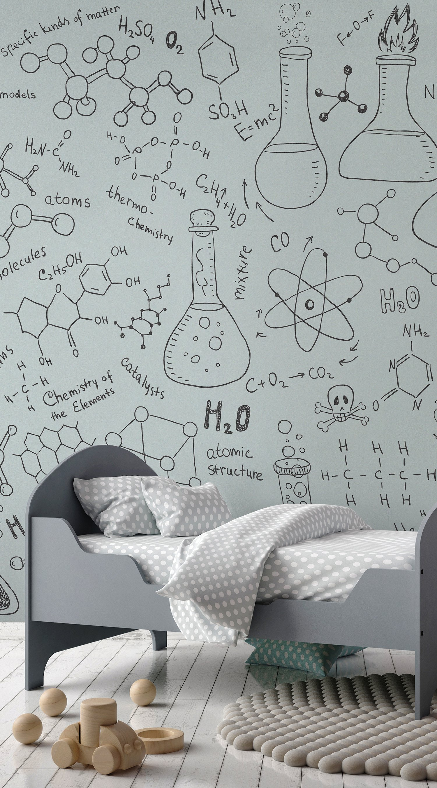 Wallpaper Murals For Bathrooms Educational Wallpapers The Perfect Ideas For Your Kid S Bedroom