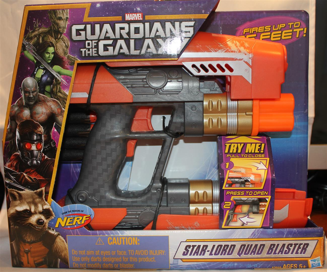 Toy Island Toys Guardians Of The Galaxy Star Lord Quad Blaster Mureview