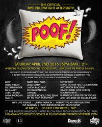 NYC Pillow Fight After Party at Bar 13 - MurphGuide: NYC ...