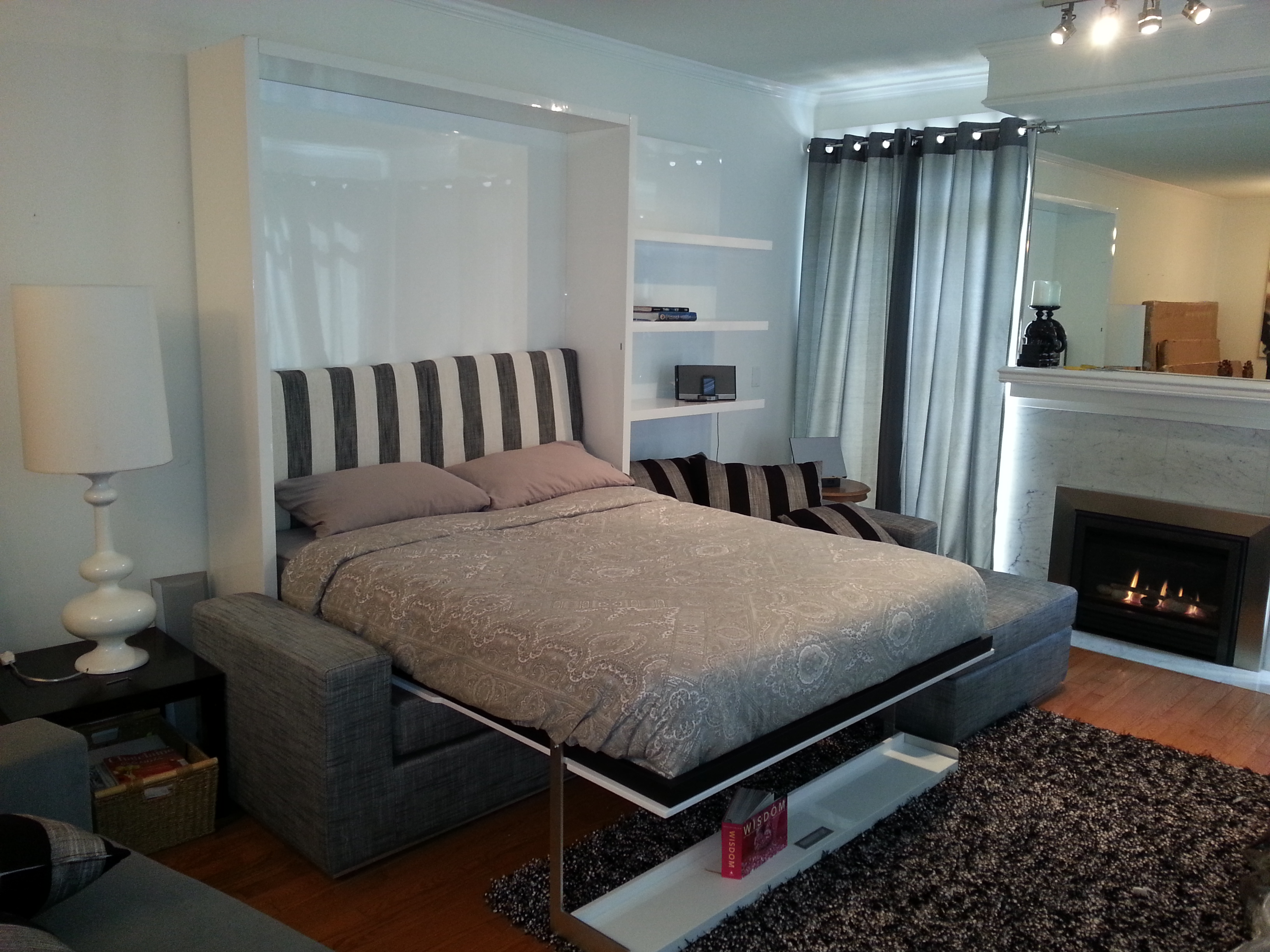 Smart Beds For Small Rooms Learn More About Murphysofa 39s Vancouver Space Saving Furniture