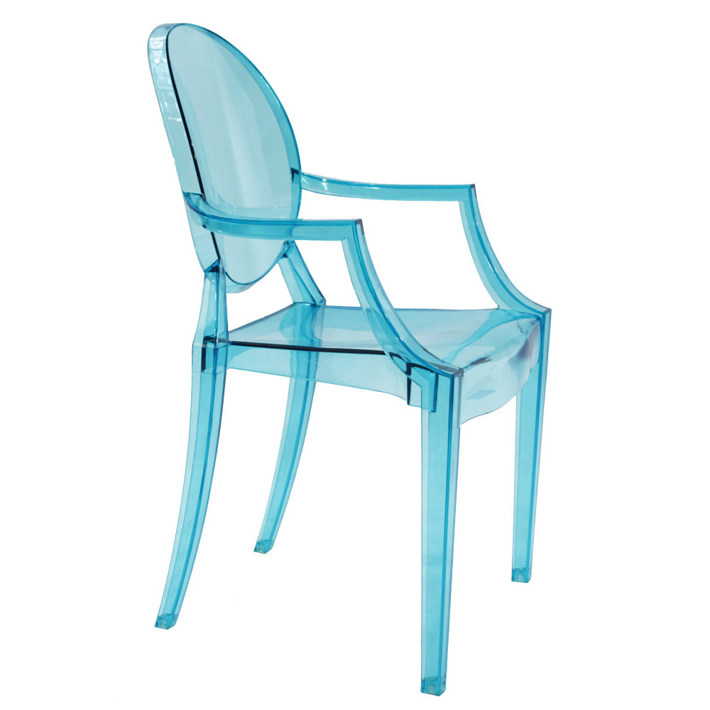 Chair Replica Tolix Replica Ghost Chair - Transparent | Murray & Wells