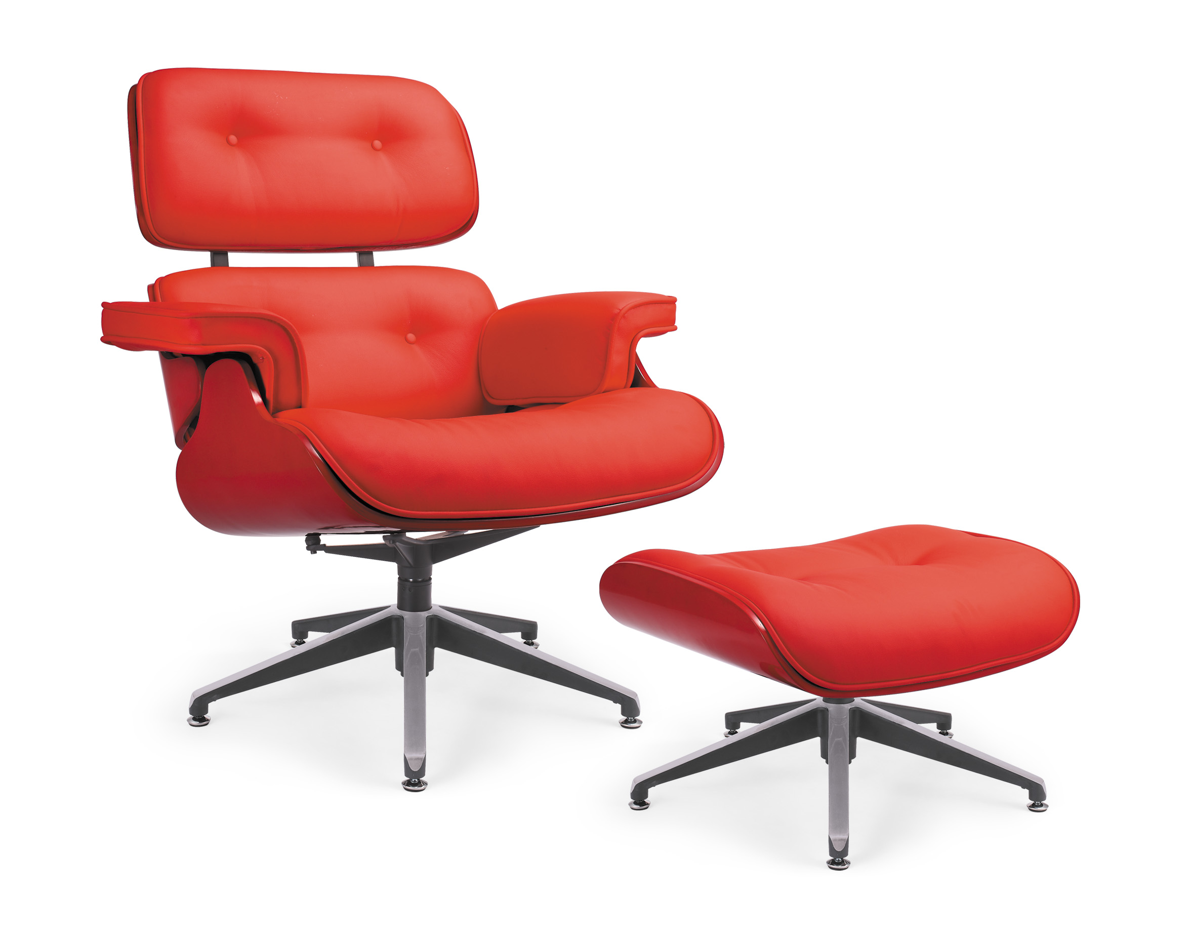 Replica Eames Chair And Stool Murray Wells