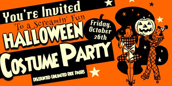 Banner Costume Party Flyer - Murrieta