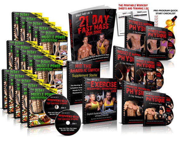 21 day fast mass building program