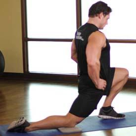 34 hip flexor stretch