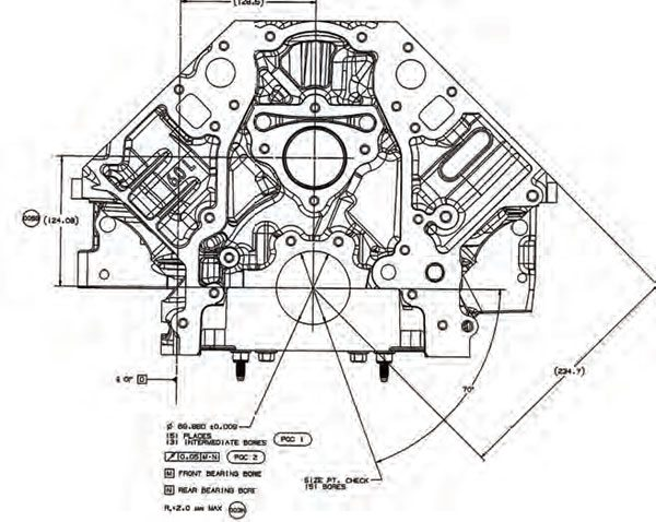 How to Blueprint Engine Blocks \u2022 Muscle Car DIY - copy blueprint engines how to