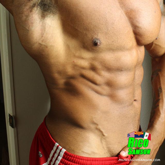 black bodybuilder rico samson photos 6