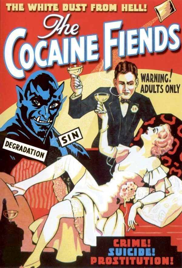 Vintage Movie Posters Cocaine Fiends 1936 The Müscleheaded Blog