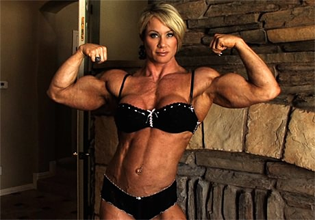 tall muscle woman dominates