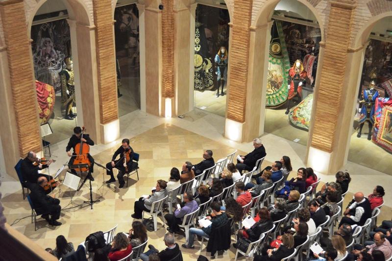 14 OCT 2015 Concierto Cuarteto Saravasti y Jesús Carrasco