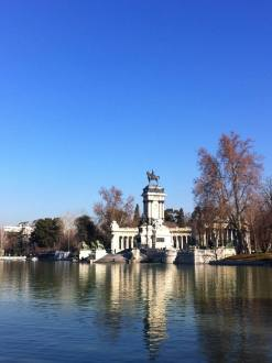 "El Retiro Park, Madrid. February. It was pouring with rain and cold in London when I took this, and the day before my client and I had lunch outside it was so warm. On informing my colleagues of my circumstances one replied ""You're not making many friends around here"""