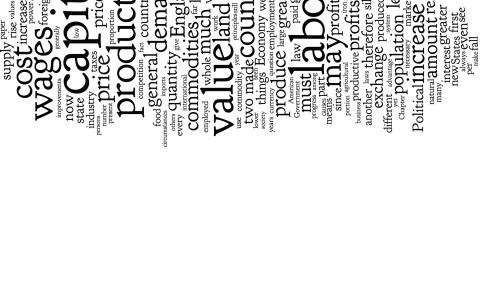 Principles of the political economy [John Stuart Mill Cloud Remix], 2013.