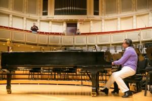 Chorus soloist rehearsal/Photo: Todd Rosenberg
