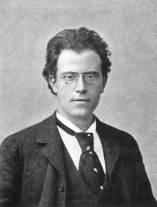 Gutav Mahler at the time of his First Symphony.