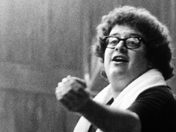 James Levine's first Chicago Symphony Orchestra rehearsal at Ravinia, 1971