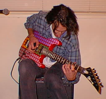 Dave and his Charvel 1995