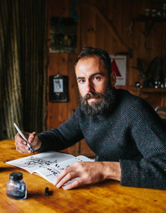 Dani is 28 years old and grew up in Barcelona. He moved to Matavenero 4 years ago to find a place where he could work peacefully on his drawings and paintings. He recently became a published artist.