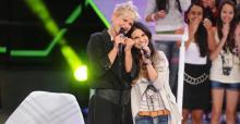 Aline Barros se apresenta no programa TV Xuxa, neste Sábado