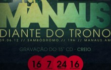 Diante do Trono 15: aprenda as músicas no hotsite do CD Creio, que será gravado em Manaus