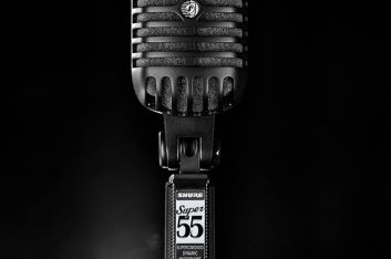 Expomusic: Shure lança microfone vocal Super 55-BLK Black Edition