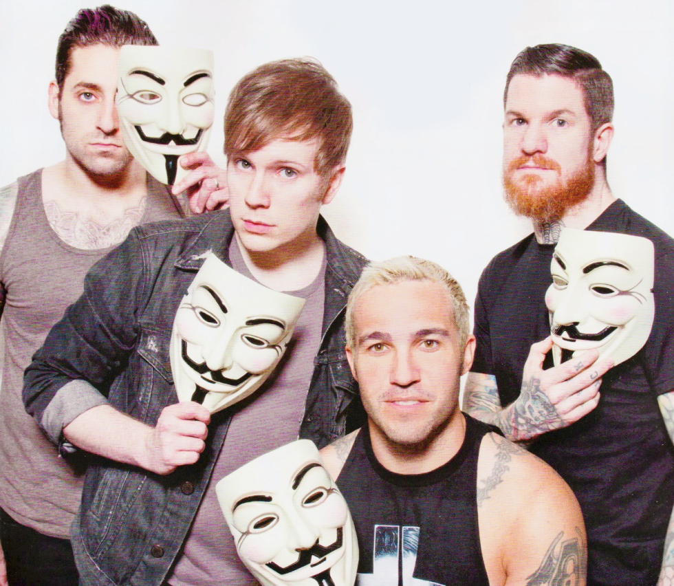 Fall Out Boy Wallpaper Logo M 250 Sica En Lata Una Informaci 243 N Sobre Canciones Con Abre