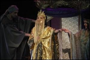 Sibyla přijíždí do Jeruzaléma Eva Burešová