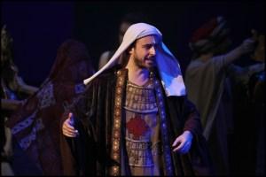 Miroslav Hrabě jako Ezra Sibyla královna ze Sáby